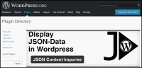 Screenshort wordpress.org